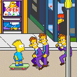 Симпсоны (Японская Версия) - The Simpsons 2 Players Japan