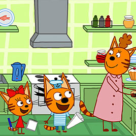 Три Кота: Поиск Котов