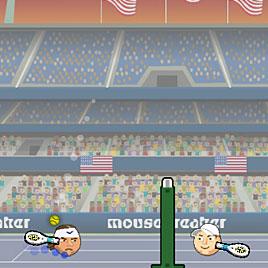 Игры Головами: Открытый Теннис