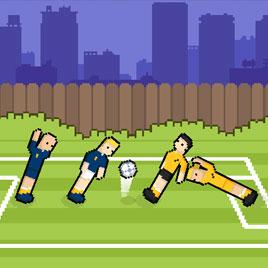 На Двоих: Произвольный Футбол