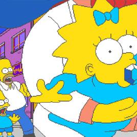 Симпсоны на Четверых Игроков - The Simpsons 4 Players