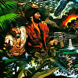 Guerrilla War NES Денди