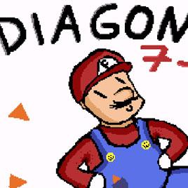 Марио 2 по диагонали