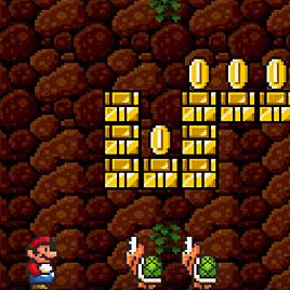 Супер Марио: Улучшенная Графика