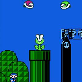 Синий Марио 3