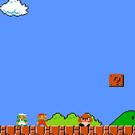 Марио на двоих Денди
