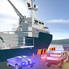3Д Симулятор Корабля Автовоза