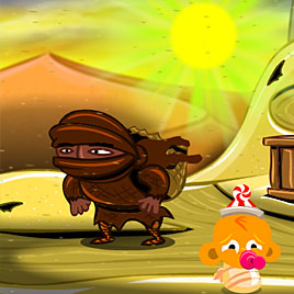 Счастливая обезьянка: Уровень 305 - Восстановление Робота