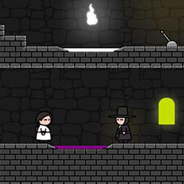 Темный Мастер и Светловолосая Девушка