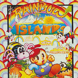 Rainbow Islands The Story of Bubble Bobble 2 - ZX Spectrum