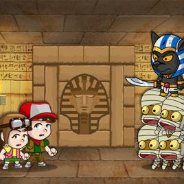 На Двоих: Приключения в Пирамиде