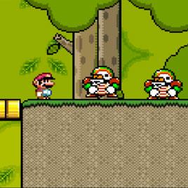 Марио заблудился в лесу