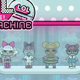 Автомат с Куклами Лол