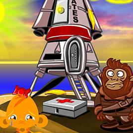 Счастливая обезьянка: Уровень 453