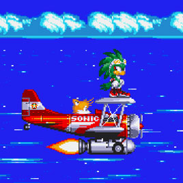 Jet in Sonic 3 & Knuckles - Соник 3