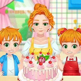 Торт на день рождения для мамы