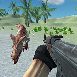 Шутер На Острове Динозавров
