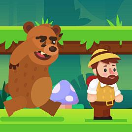 Побег От Медведя