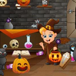Хэллоуин: Поиск Объектов