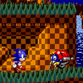 Sonic Sandness / Sonic Sadness - Соник