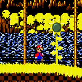 Соник Супер Марио