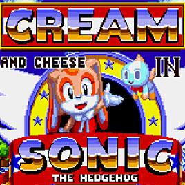 Cream and Cheese in Sonic the Hedgehog / Соник Крольчиха Крим