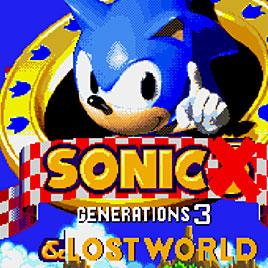 Соник 3 Поколения Затерянный Мир