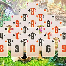 Пасьянс Пирамида в джунглях