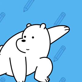 Вся правда о медведях рисовалка как нарисовать белого медведя