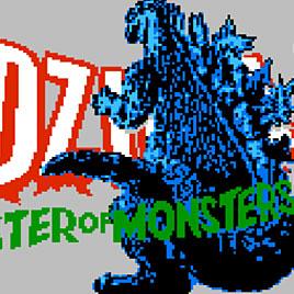 Godzilla Monster of Monsters! / Годзилла Денди