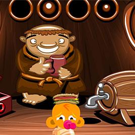 Счастливая обезьянка: Уровень 541