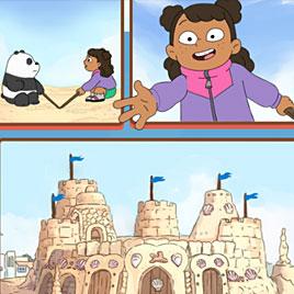Картун Нетворк Битва За Песочный Замок