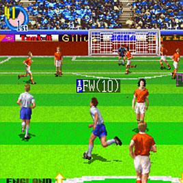 Super Visual Football: European Sega Cup / Футбол