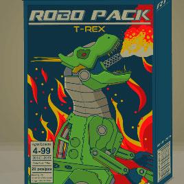 Роботы Динозавры Сборка