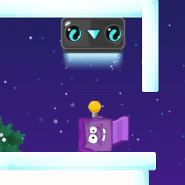Ледяная Фиолетовая Голова 3