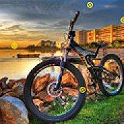 Игра Игра Скрытые колеса велосипеда