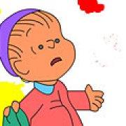 Игра Игра Снупи и Чарли Браун раскраски