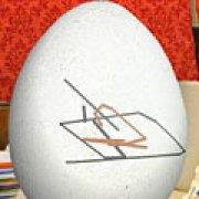 Игра Игра Разрисуй пасхальное яйцо