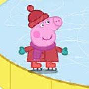 Игра Игра Свинка Пеппа на коньках