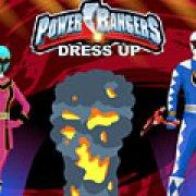 Игра Игра Одевалки: Могучие Рейнджеры