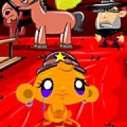 Игра Игра Счастливая обезьянка на Диком Западе