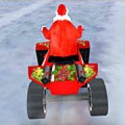 Игра Игра Санта на вездеходе 3Д