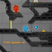 Игра Игра Огонь и Вода 4 в Хрустальном храме