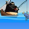 Игра Игра Рыбалка ниндзя