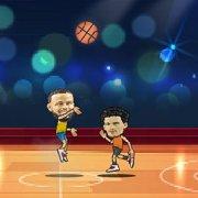 Игра Игра Баскетбол на двоих онлайн