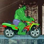 Игра Игра Халк: гонка на супермотоцикле