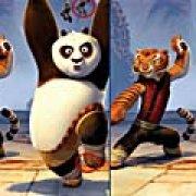 Игра Игра Кунг-фу Панда и друзья: найди отличия