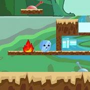 Игра Игра Огонь и Вода: ледовые приключения