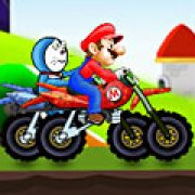 Игра Игра Дораэмон против Марио