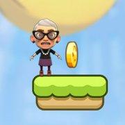 Игра Игра Злая бабушка: прыжки вверх